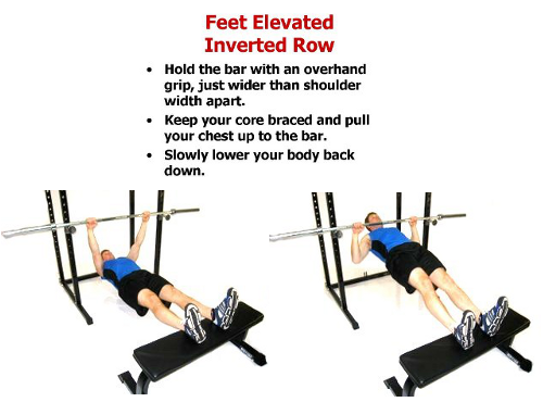The Inverted Row: Best Upper-Back Exercise known to man