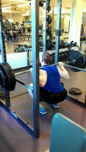 Full Range of Motion Barbell Back Squats