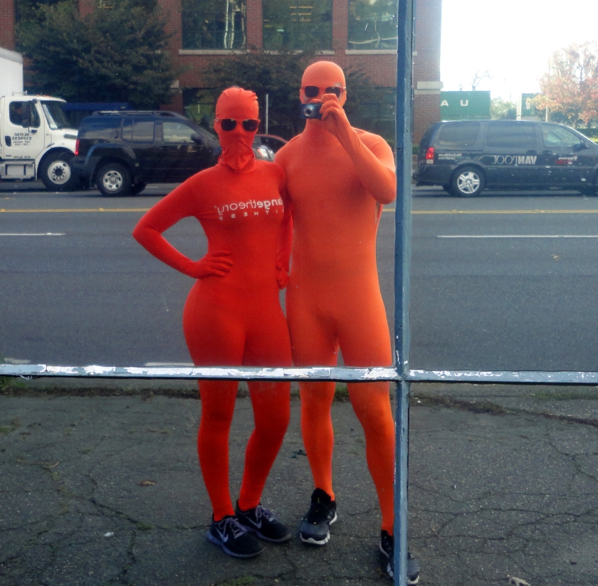 Selfshot Orange People