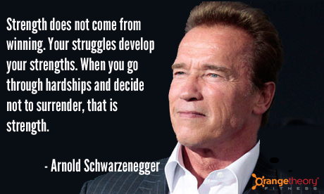 Arnie knows