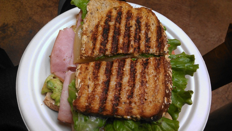 A sandwich I once ate ate Marlene's in Tacoma before my workout at the nearby athletic club which I worked at