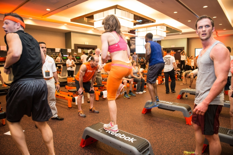 Time constraints can be motivating, as is some healthy Orangetheory Fitness competition
