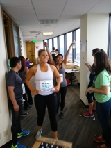 Orangetheory Fitness attacks the Big Climb 2015, fights blood cancers