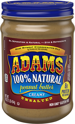 Adam's Peanut Butter, how many buzzwords can you spot?